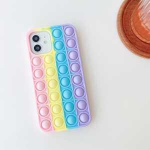 Bubble Pop It Maskica za iPhone 7 / 8 / SE 2020 - Više boja