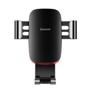 Baseus Gravitacijski Držač mobitela za auto na ventilacijsku rešetku - Crni