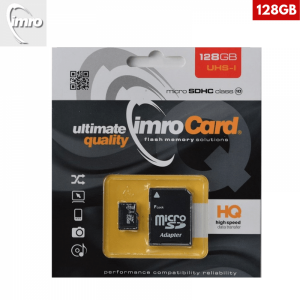 128GB – IMRO MicroSDXC Kartica s Adapterom