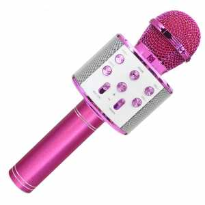 Forever Karaoke Bluetooth Mikrofon sa Zvučnikom BMS-300 - Rozi