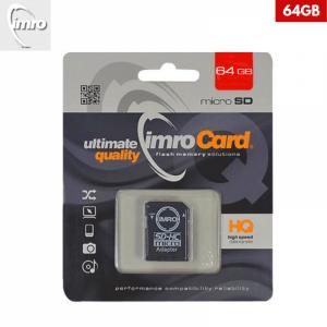 64GB – IMRO MicroSDXC Kartica s Adapterom
