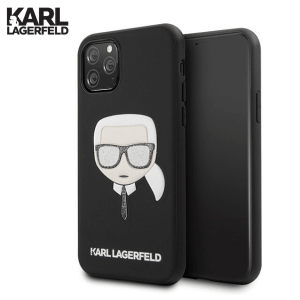 Karl Lagerfeld Maskica za iPhone 11 Pro Max – Crna