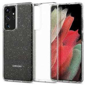 Spigen Liquid Crystal za Galaxy S21 Ultra - Glitter
