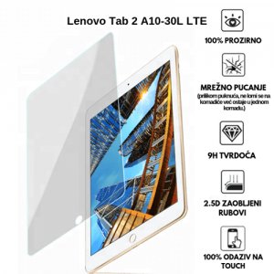 Lenovo Tab 2 A10-30L LTE 10.1 inča – Kaljeno Staklo / Staklena Folija