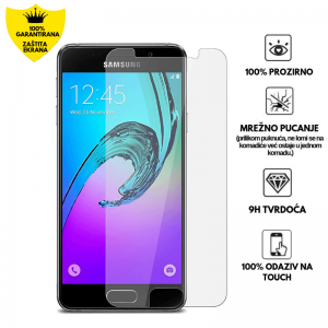 Kaljeno Staklo / Staklena Folija za Samsung Galaxy A3 (2016)