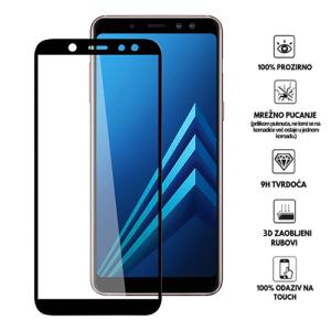 3D Zaobljeno Kaljeno Staklo za Galaxy A6 Plus (2018)