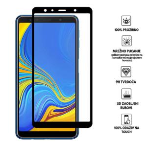 3D Zaobljeno Kaljeno Staklo za Galaxy A7 (2018)
