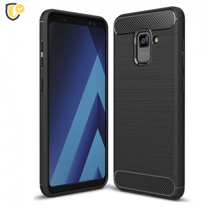 Silikonska Carbon Maskica za Galaxy A8 / A5 (2018)