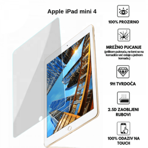 Apple iPad Mini 4 7.9 inča – Kaljeno Staklo / Staklena Folija