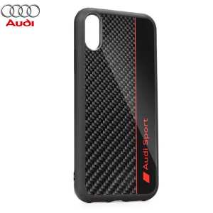 AUDI Carbon Fibre Originalna Maskica za Galaxy S10 Plus