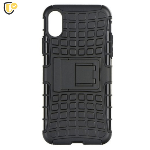 Defender Maskica za iPhone X/XS - Crna