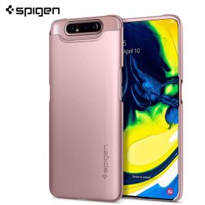 Spigen Thin Fit Maskica za  Galaxy A80 - Rose Gold