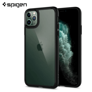 Spigen Ultra Hybrid Maskica za  iPhone 11 Pro Max - Matte Black
