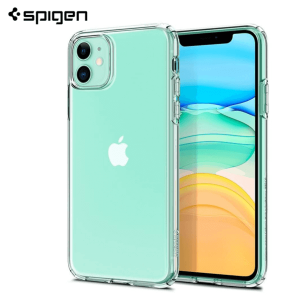 Spigen Liquid Crystal Maskica za iPhone 11 - Crystal Clear