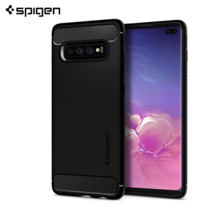 Spigen Rugged Armor Maskica za  Galaxy S10 Plus - Black