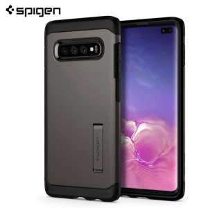 Spigen Tough Armor Maskica za  Galaxy S10 Plus - Gunmetal
