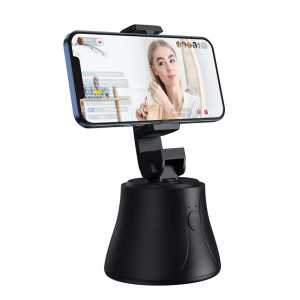 Baseus 360° Rotacijski Stolni držač s gimbal-om za mobitel za praćenje lica - Crni