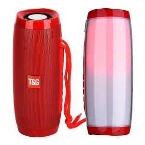 T&G RGB Bluetooth Zvučnik TG157 - Crveni