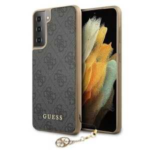 GUESS 4G Charms Maskica za Galaxy S21 – Siva