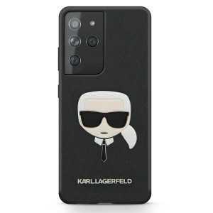 Karl Lagerfeld Ikonik Karl Maskica za Galaxy S21 Ultra – Crna