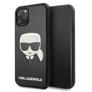 Karl Lagerfeld Ikonik Karl Maskica za iPhone 11 Pro Max – Crna