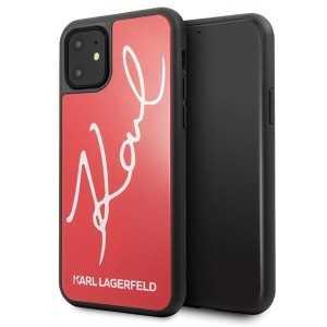 Karl Lagerfeld Signature Glitter za iPhone 11 – Crvena