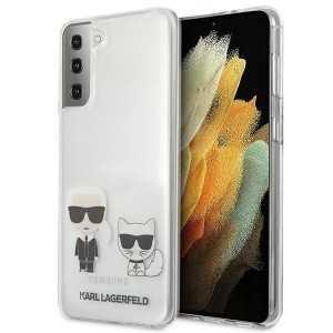 Karl Lagerfeld Karl & Choupette Transparent maskica za Galaxy S21