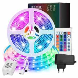 LED RGB vodootporna traka 5m višebojne
