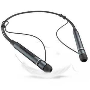 Magnetske bežične Bluetooth slušalice KAKU crne