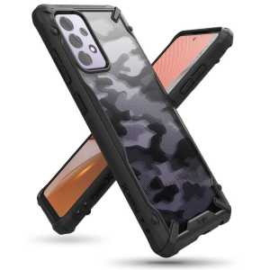 Ringke FUSION X Maskica za Galaxy A72 / A72 5G - Army Black