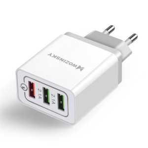 Wozinsky 3.0 Triple USB Adapter - Bijeli