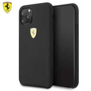Ferrari Originalna Maskica za iPhone 11 – Crna