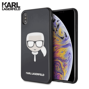 Karl Lagerfeld Maskica za iPhone XS Max – Crna