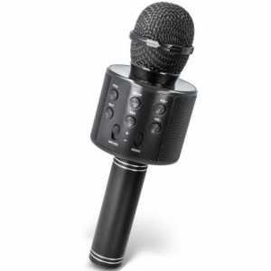Forever Karaoke Bluetooth Mikrofon sa Zvučnikom BMS-300 - Crni