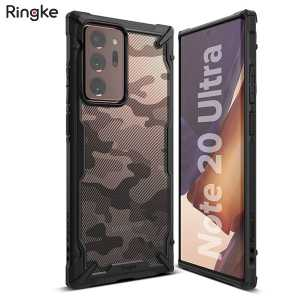 Ringke FUSION X Maskica za Galaxy Note 20 Ultra - Army Black