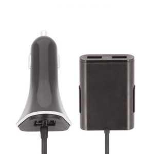 FOREVER Autopunjač sa kabelom – 4xUSB porta
