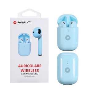 Y1 5.0 Bluetooth Slušalice - Svijetlo Plava