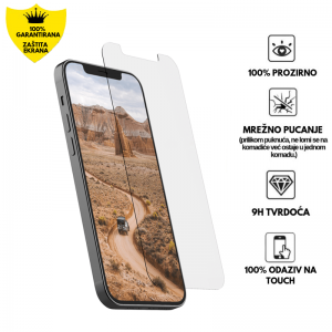 Kaljeno Staklo / Staklena Folija za iPhone 12 Mini
