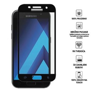 3D Zaobljeno Kaljeno Staklo za Galaxy J3 (2017)