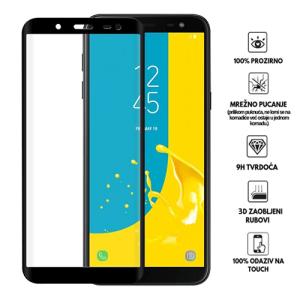 3D Zaobljeno Kaljeno Staklo za Galaxy J6 (2018)