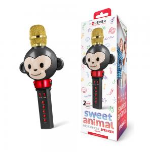 Forever Animal Karaoke Bluetooth Mikrofon sa Zvučnikom AMS-100