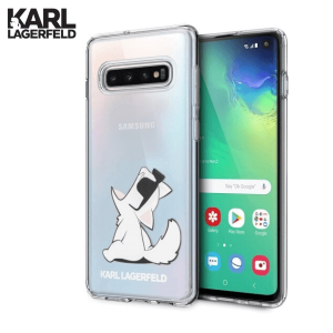 Karl Lagerfeld Choupette Fun za Galaxy S10e – Prozirna
