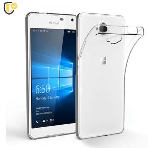 Ultra tanka Prozirna Silikonska maskica za Lumia 520
