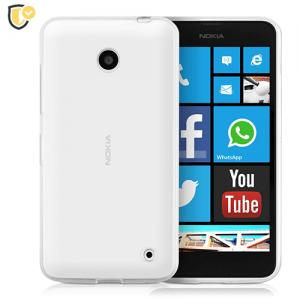 Ultra tanka Prozirna Silikonska maskica za Lumia 630