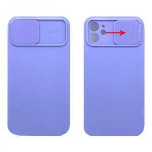 TPU Silikonska Maskica s zaštitom za kameru za iPhone 12 Pro - Više boja