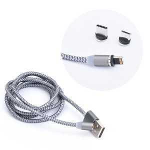 Magnetni 3 u 1 USB kabel s Adapterima (1m)