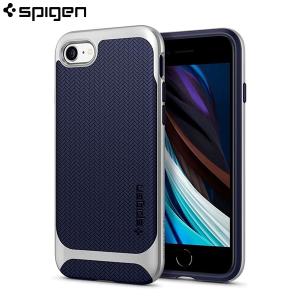 Spigen Neo Hybrid Maskica za iPhone 7 / 8 / SE 2020 - Satin Silver