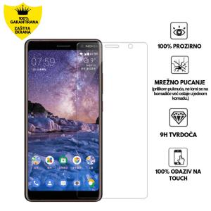 Kaljeno Staklo / Staklena Folija za Nokia 7 Plus