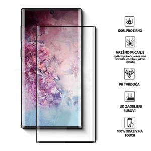 3D Zaobljeno Kaljeno Staklo za Galaxy Note 10 Plus