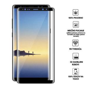 3D Zaobljeno Kaljeno Staklo za Galaxy Note 8
